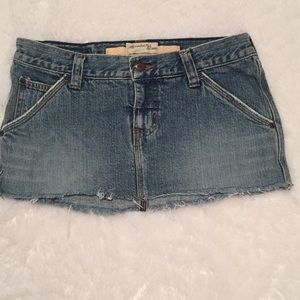 Abercrombie and Fitch jean skirt